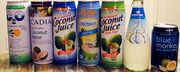 Coconut Taste Test Competitors
