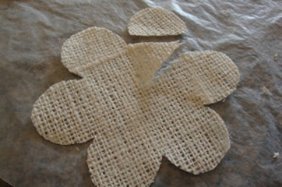 burlap flower template burlap rose tutorial