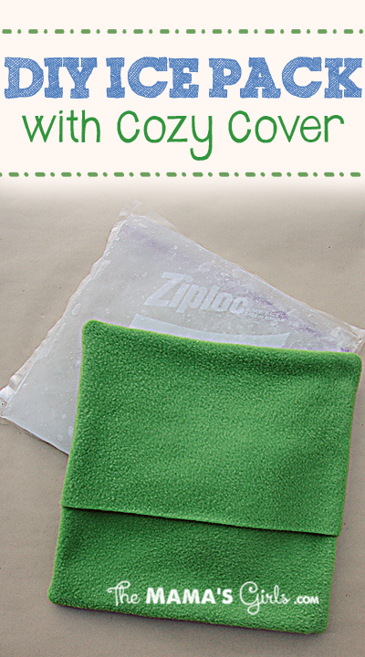 DIY Ice Pack with cozy cover
