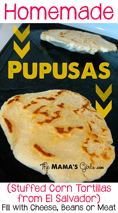 Homemade Pupusas