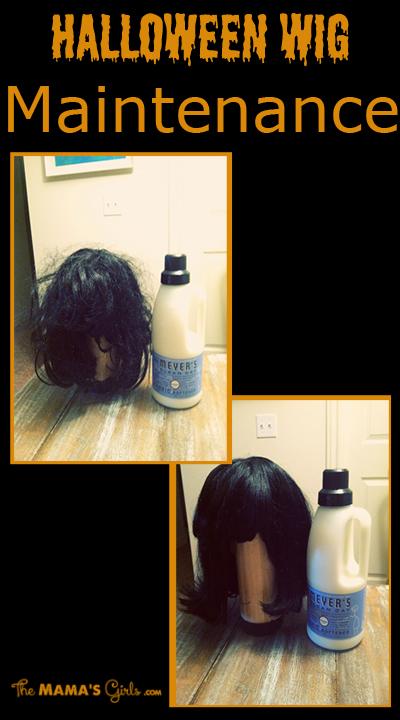 Halloween Wig Maintenance