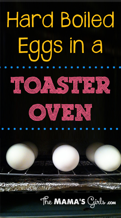 Hard Boiled Eggs in a Toaster Oven