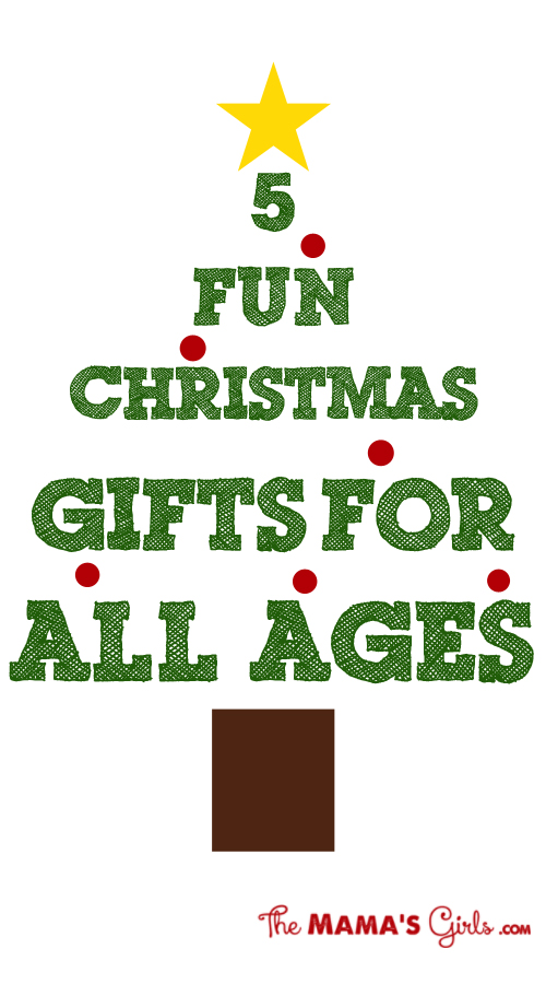5 Fun Christmas Gifts for All Ages