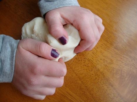 knead playdough