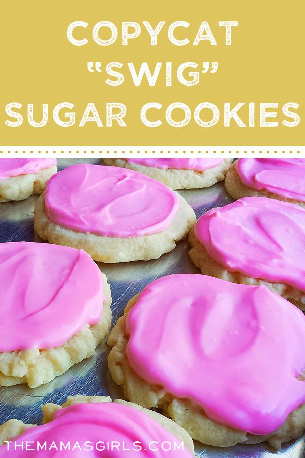 """Copycat """"Swig"""" Sugar Cookies"""
