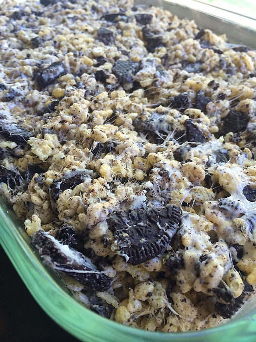Oreo Rice Krispy Treat Recipe 1