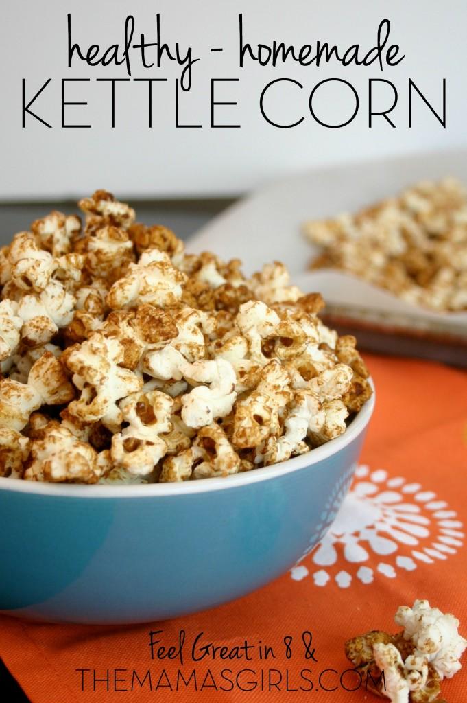 Kettle corn recipe