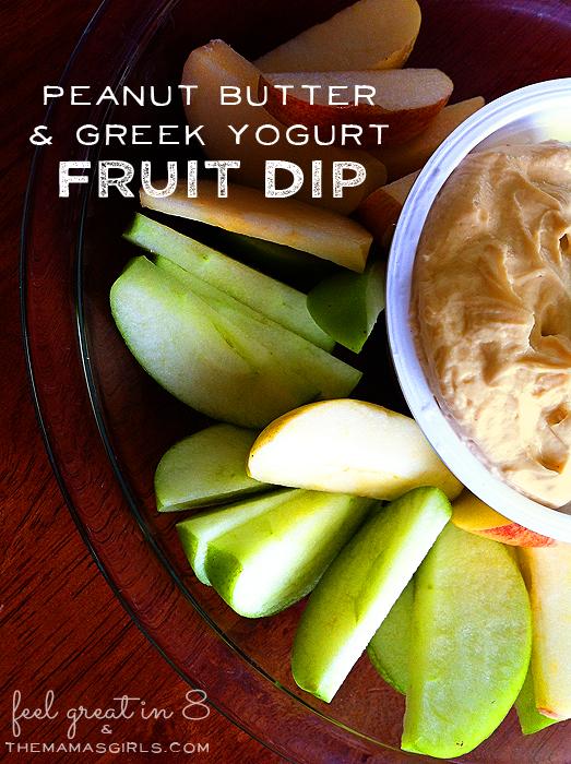 Peanut Butter Greek Yogurt Fruit Dip