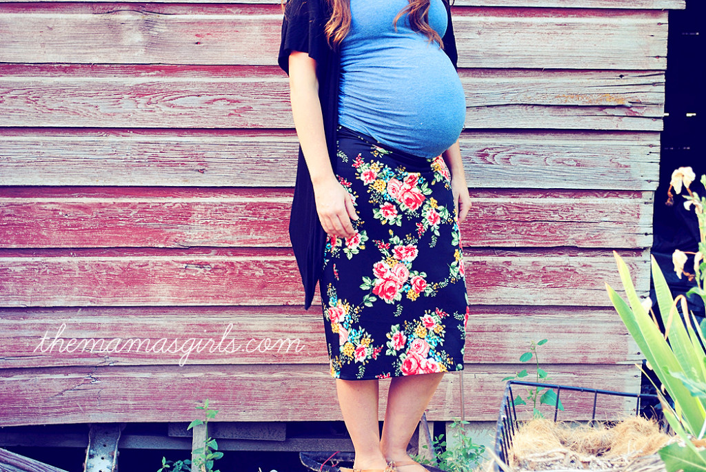 Agnes and Dora Maternity Skirt