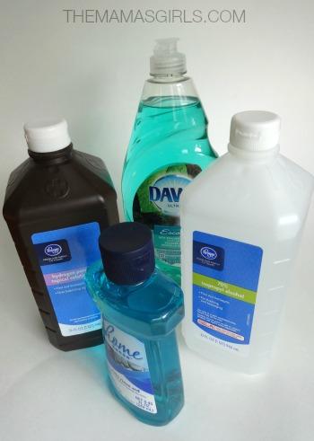 DIY After Shower Spray - ingredients