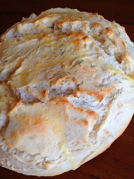 Fast Rosemary Bread02