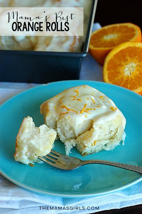Mama's Best Orange Rolls