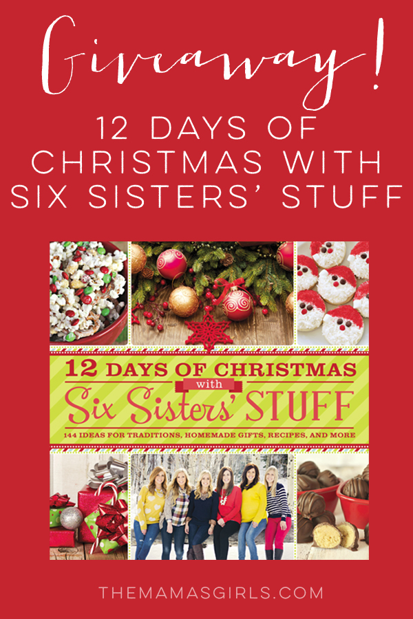 Giveaway! Six Sisters' Stuff New Book