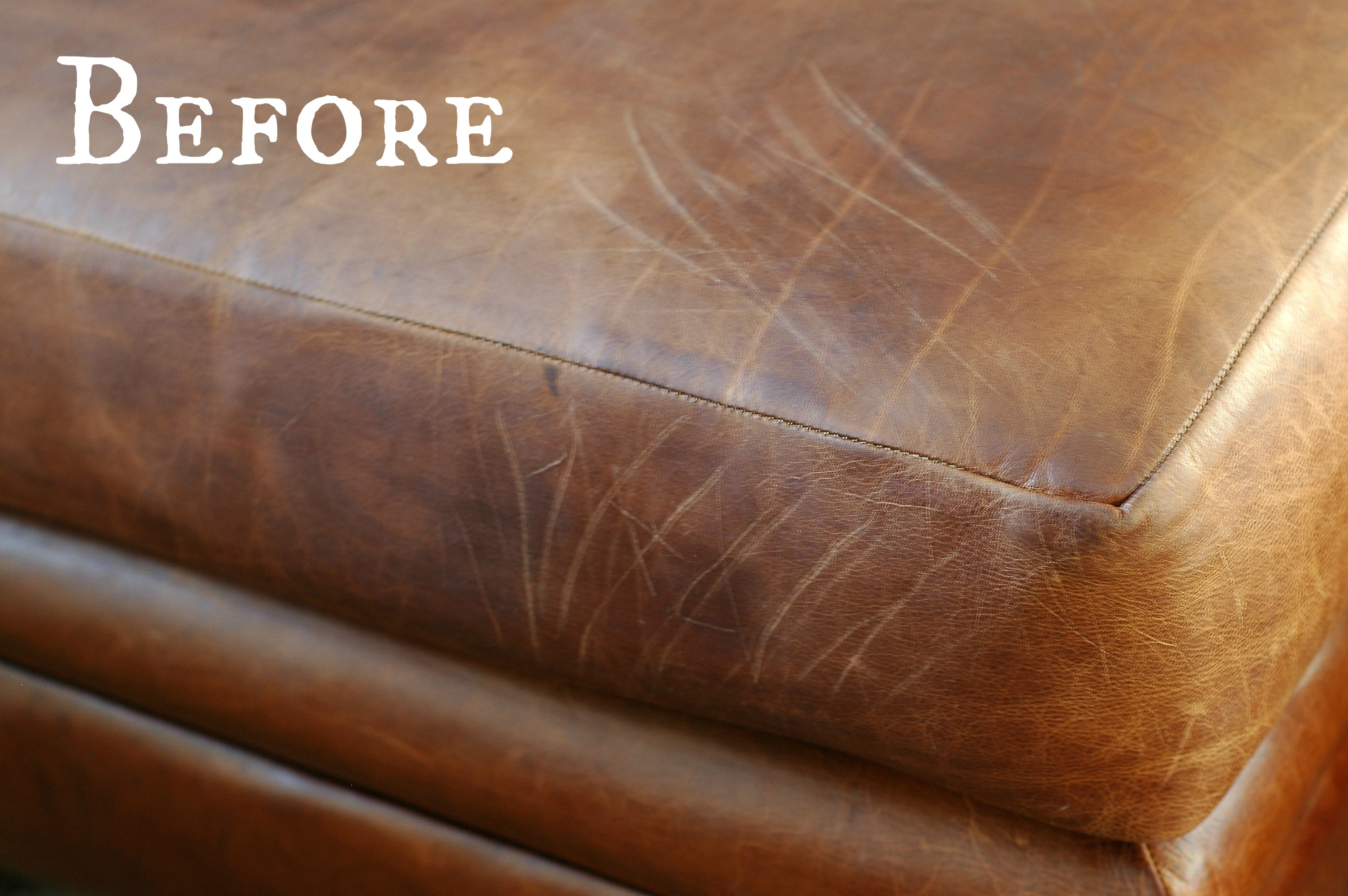 Scratches On Leather Sofa How To Repair Cat Scratched