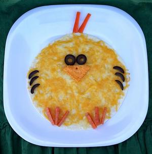 chick quesadilla for kids