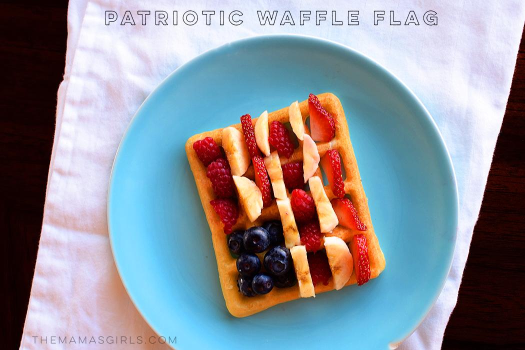 Patriotic Waffle Flag