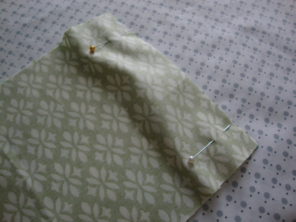 Pocket Tissue Holder - step 1
