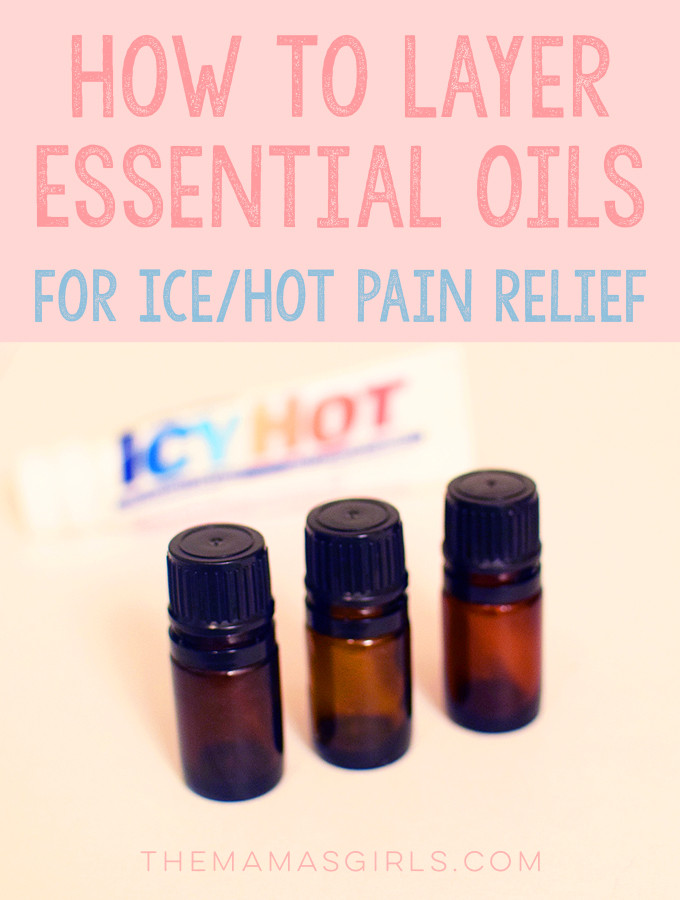 How To Layer Essential Oils for Ice-Hot Pain Relief