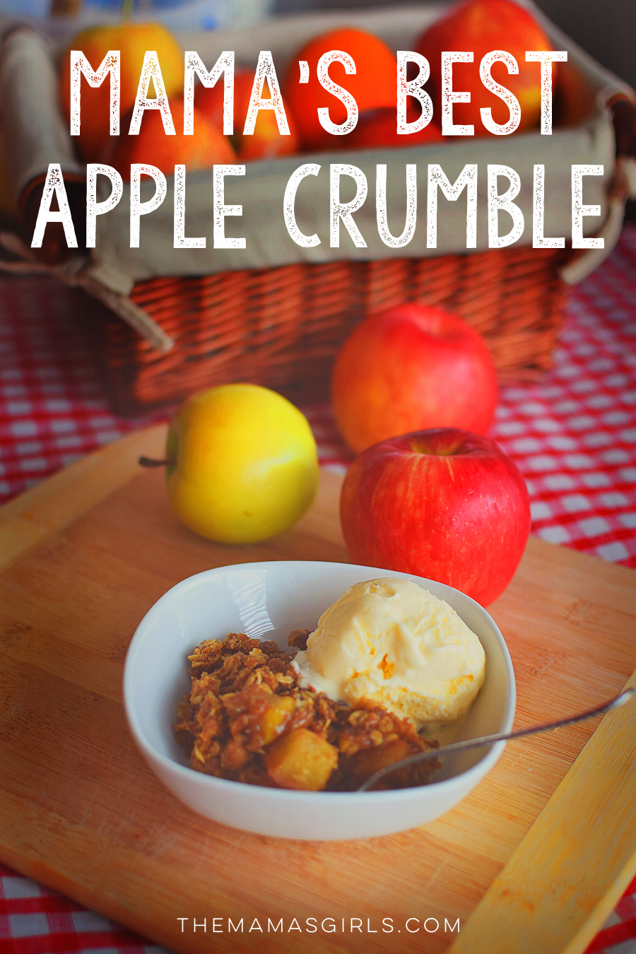 Mama's Best Apple Crumble