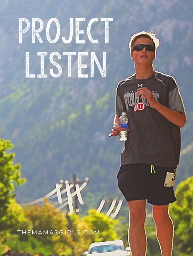 Project Listen - themamasgirls