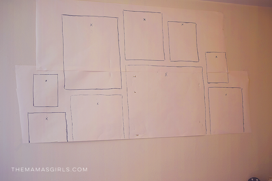 How to Mount A Perfectly Spaced Gallery Wall Easily -