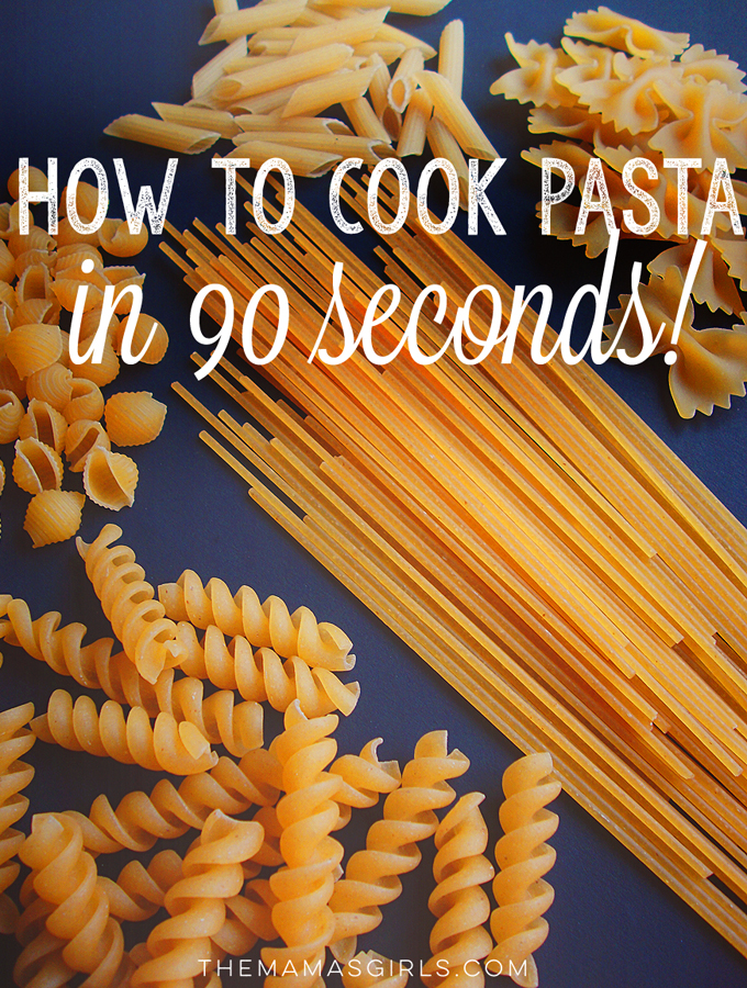 How to Quick-Cook Pasta in 90 Seconds
