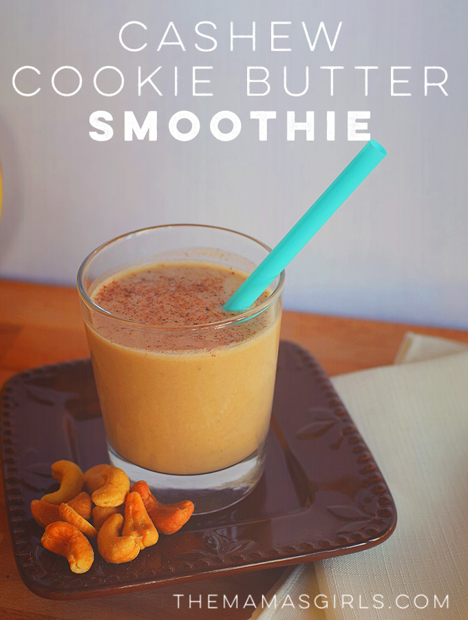 Cashew Cookie Butter Smoothie -
