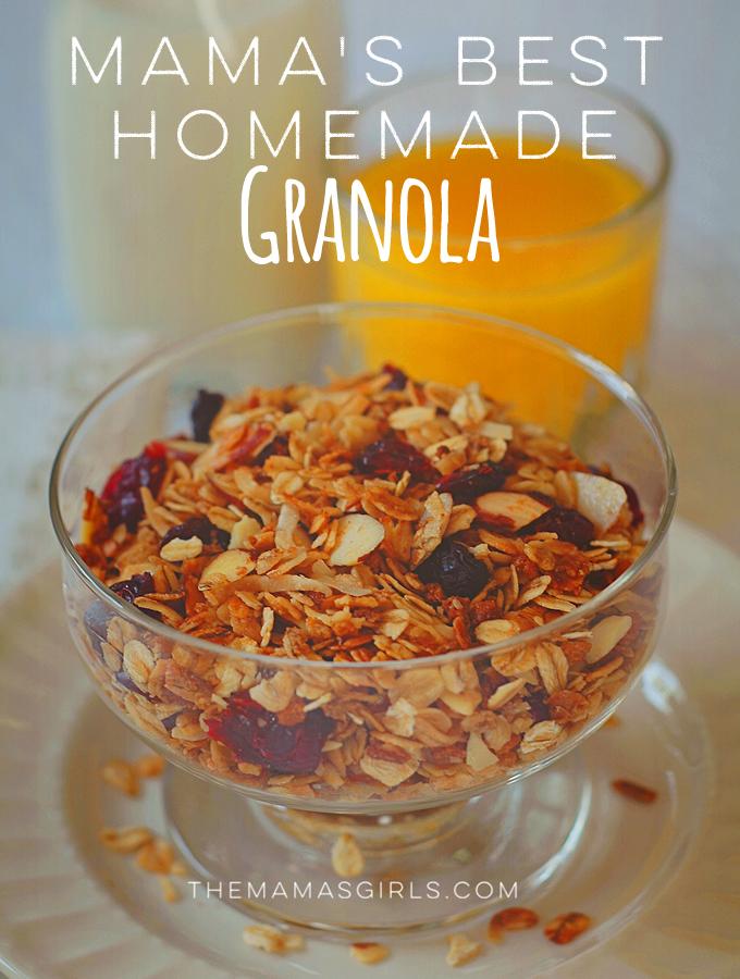 Mama's Best Homemade Granola