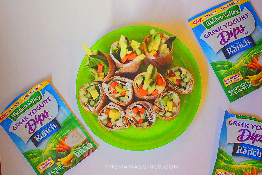Ranch Dip Sushi for kids 1