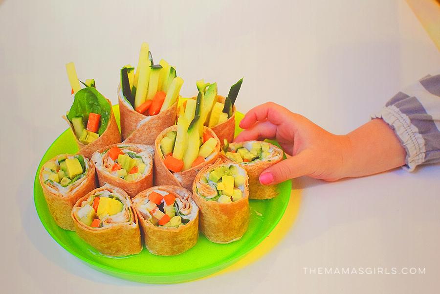 Ranch Dip Sushi