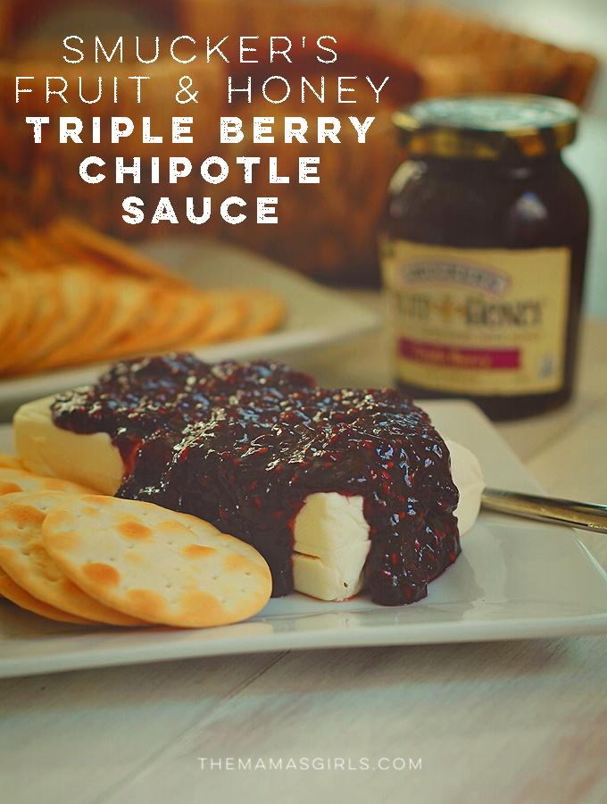 Smucker's Fruit & Honey Triple Berry Chipotle Sauce