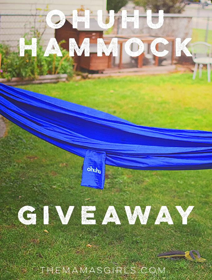 Ohuhu Hammock Giveaway