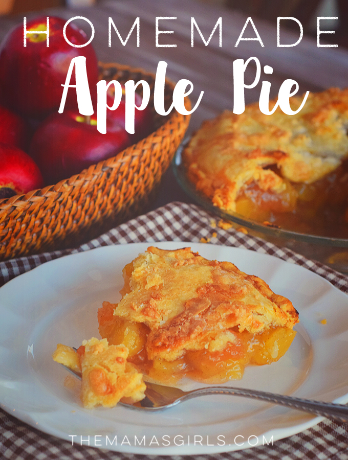 Homemade Apple Pie - so amazing