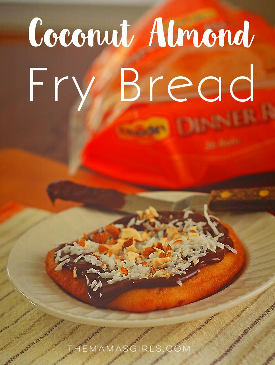 Rhodes Coconut Almond Fry Bread
