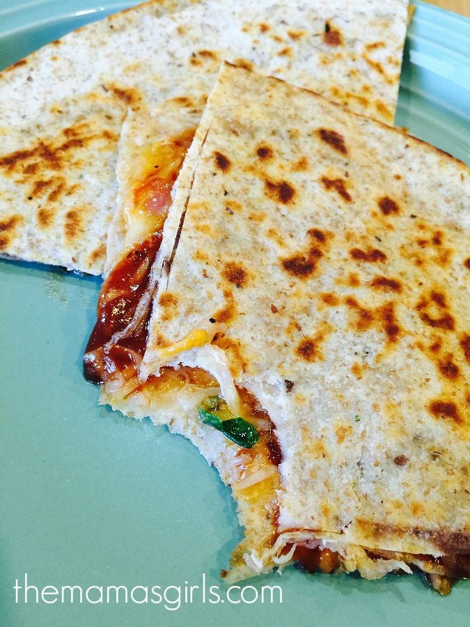 BBQ Chicken Quesadillas