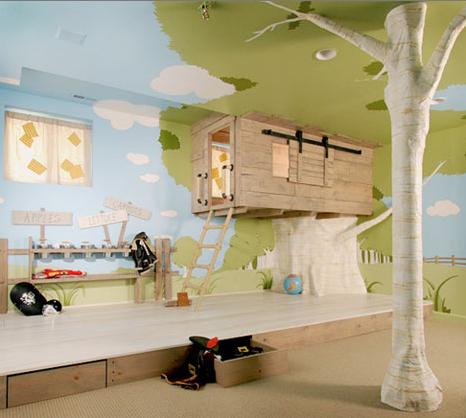 play room ideas tree house