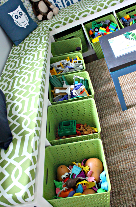 organized toy room idea