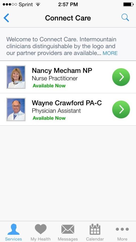 intermountain healthcare app