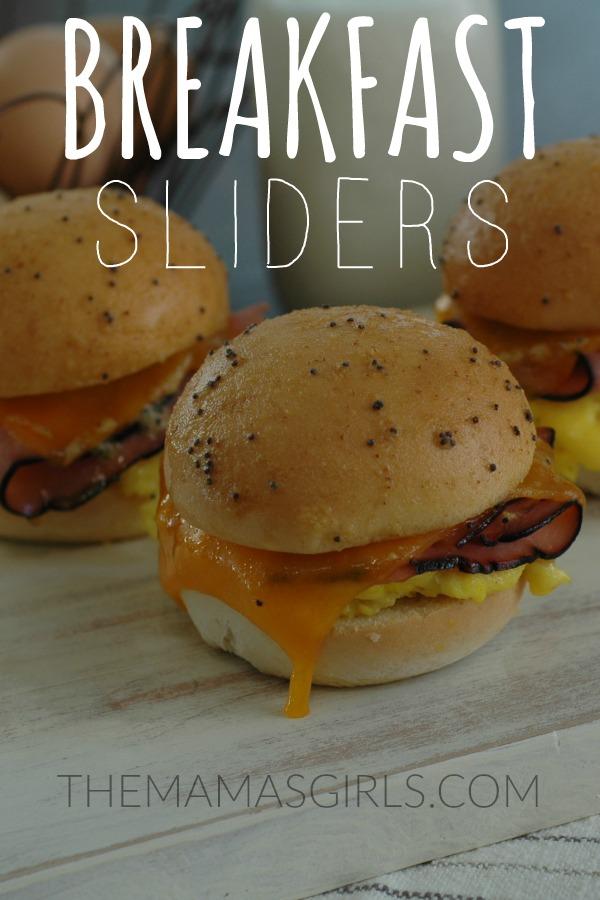 Breakfast Sliders - themamasgirls.com