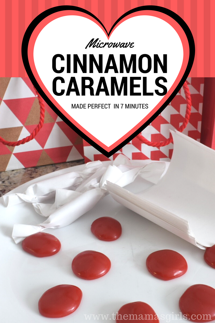 Microwave Cinnamon Caramel Recipe