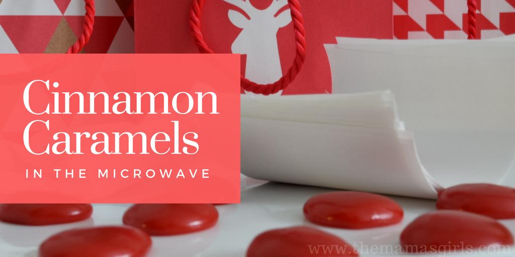 Microwave Cinnamon Caramel Recipe