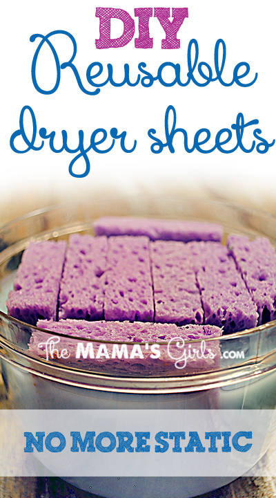 DIY Reuseable Dryer Sheets!