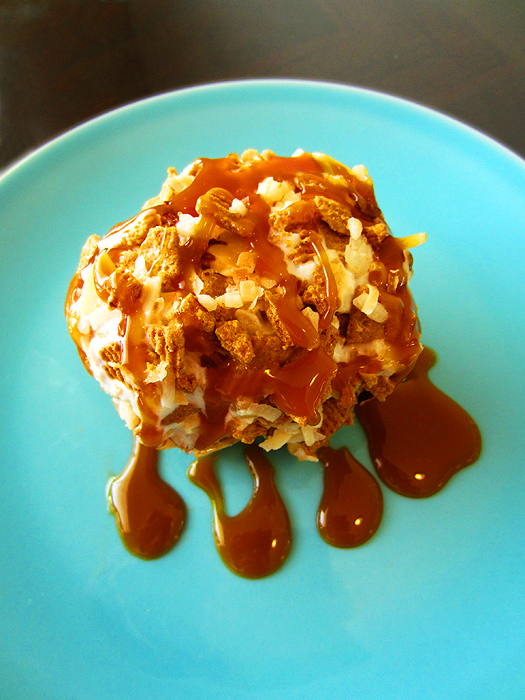 Faux Fried Ice Cream!