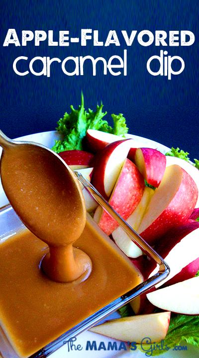 Apple Flavor Caramel Dip