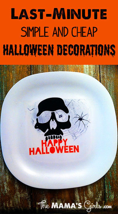 Simple and Cheap Halloween Decorations