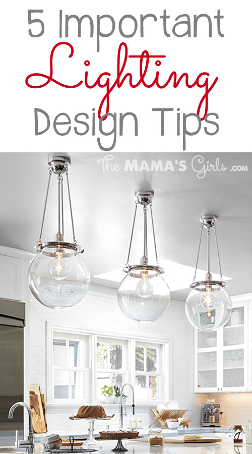 5 imporant lighting design tips