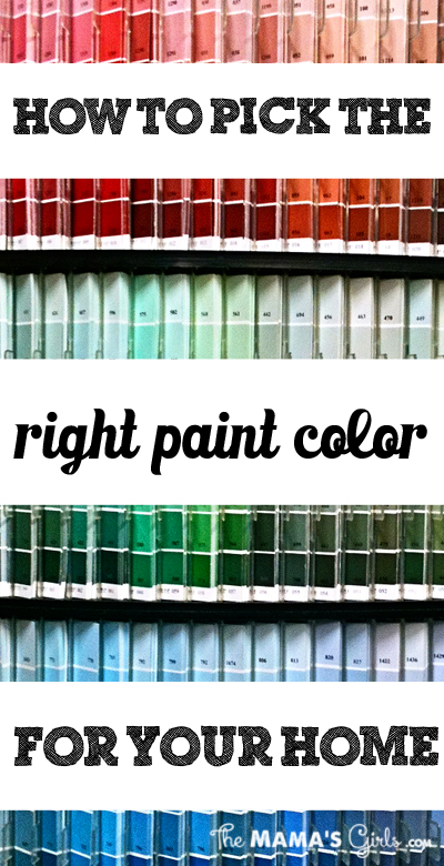 How to pick the perfect color for your home