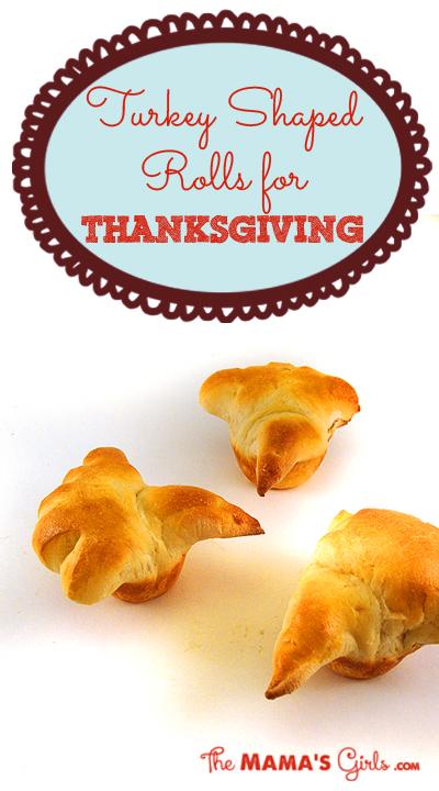 Turkey Shaped Rolls for Thanksgiving