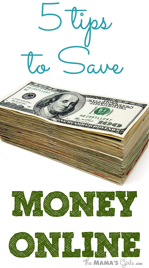 5 Tips to Save Money Onlilne