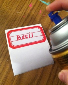 Make labels water resistant and more durable with one simple step